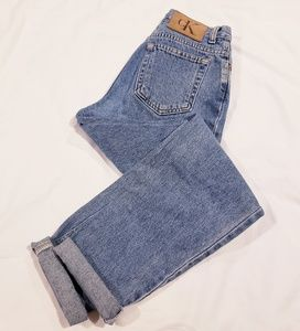 Vintage Calvin Klein High Waisted Mom Jeans